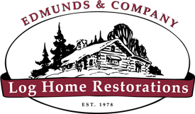 Log home restoration - Edmunds & Company