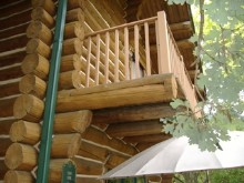 Log Home Problems with Cantilevered Decks