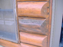 Log home repair – how to check for rot