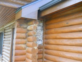 Log home problems – Why leaks happen and how to prevent them