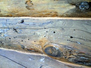 How to Check for Rot on a Log Cabin