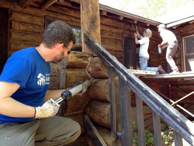 Log Home Repair Chinking Repair And Replacement Madison