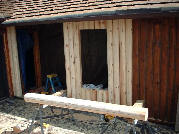Replacing Vertical Logs Wisconsin Minnesota Illinois