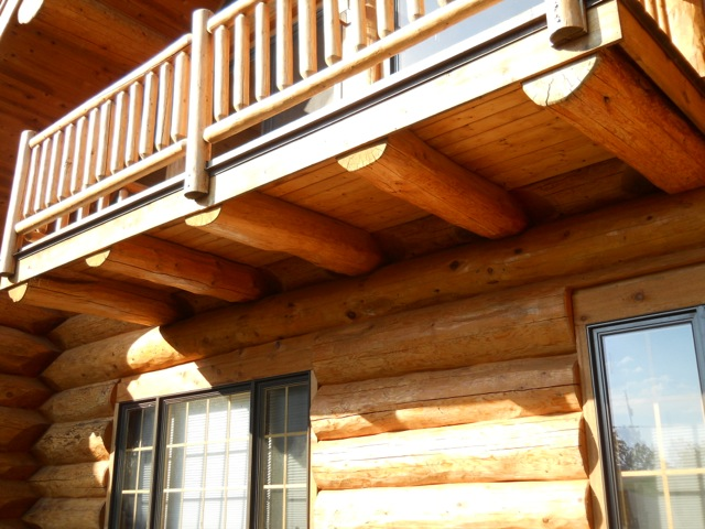 Common Problems With Middle Aged Log Homes Edmunds Amp Company