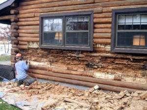 Log Home Repairs You Should Leave to a Professional