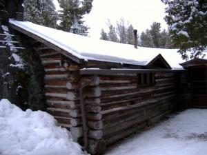 Historic log cabin