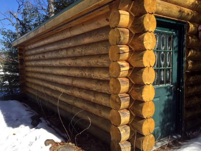 Log Homes And Problems With Linseed Oil Finish