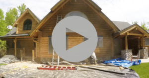 Sanblasting Log Homes Video Series