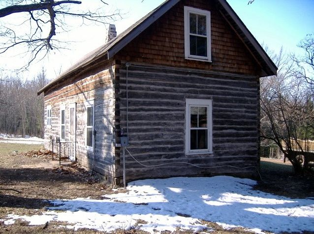 Old log home with potential