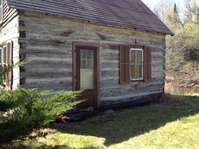 Older log home with potential