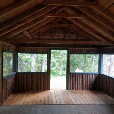 Refinished cabin interior